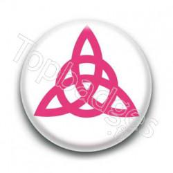 Badge Triquetra Rose