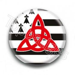 Badge Triquetra Breton