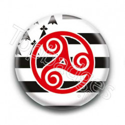 Badge Triskell Breton