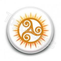 Badge Soleil Triskel