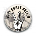 Badge West Coast Breizh