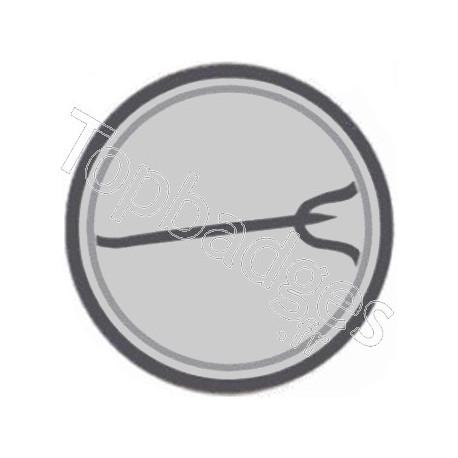 Badge Crâne Triskel