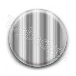 Badge Rayures Noires Fond Blanc