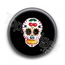 Badge Crâne Mexicain