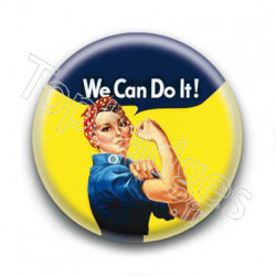 Badge Yes We Can Do It!