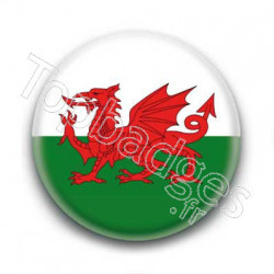 Badge drapeau Pays de Galles