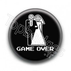 Badge Mariage Game Over