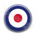 Badge Cocarde bleu blanc rouge